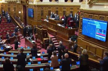 Ֆրանսիայի Սենատը ընդունեց բանաձեւը, որով կառավարութեանն առաջարկում է ճանաչել Լեռնային Ղարաբաղի անկախութիւնը