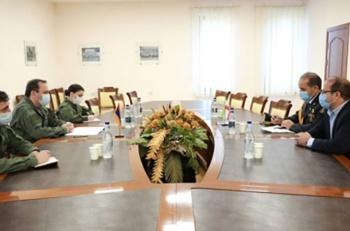 ՀՀ-ում Իրանի ռազմական կցորդին ներկայացւել է Ադրբեջանի ագրեսիայի հետեւանքով ստեղծւած իրավիճակը