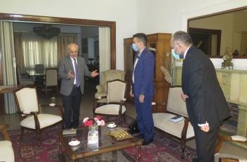 ԻԻՀ-ում ՀՀ արտակարգ եւ լիազօր դեսպանն ընդունեց «Radteb Naghsh-e Jahan» ընկերութեան տնօրէնին