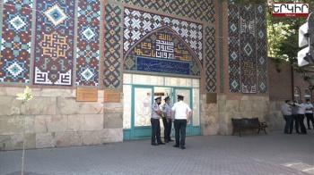 Ռումբի ահազանգ Մաշտոցի պողոտայում գտնւող Կապոյտ մզկիթում