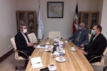 Իրանահայութեան զոյգ պատգամաւորները հանդիպեցին դատաիրաւական համակարգում մարդու իրաւունքների եւ միջազգային հարցերով ղեկավարի հետ